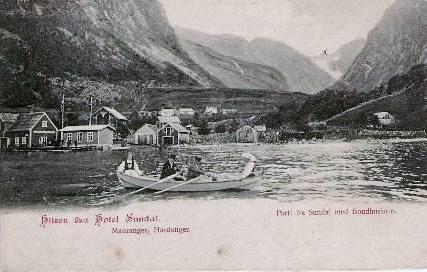 Postkort: Sundal, Mauranger