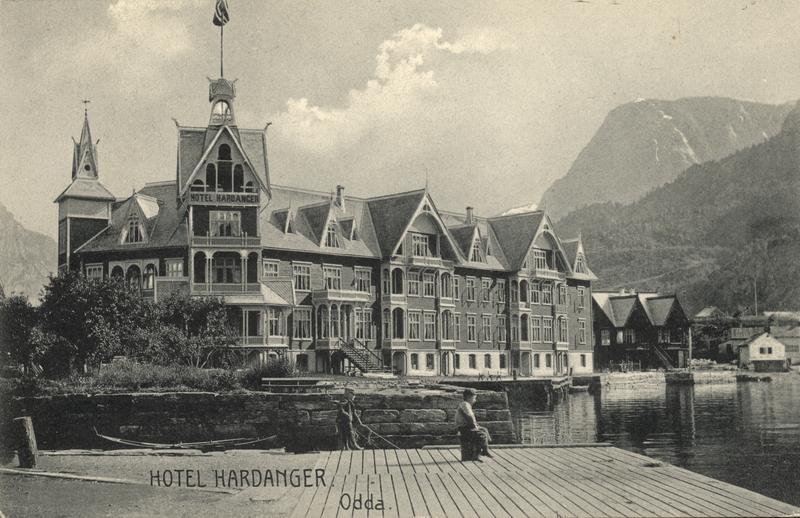 Hotel Hardanger, Odda. foto DigitalMuseum.no